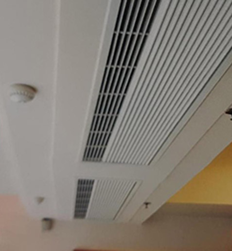 Recessed Air Curtain Design