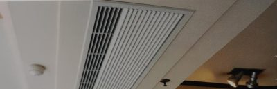 Recessed Air Curtain