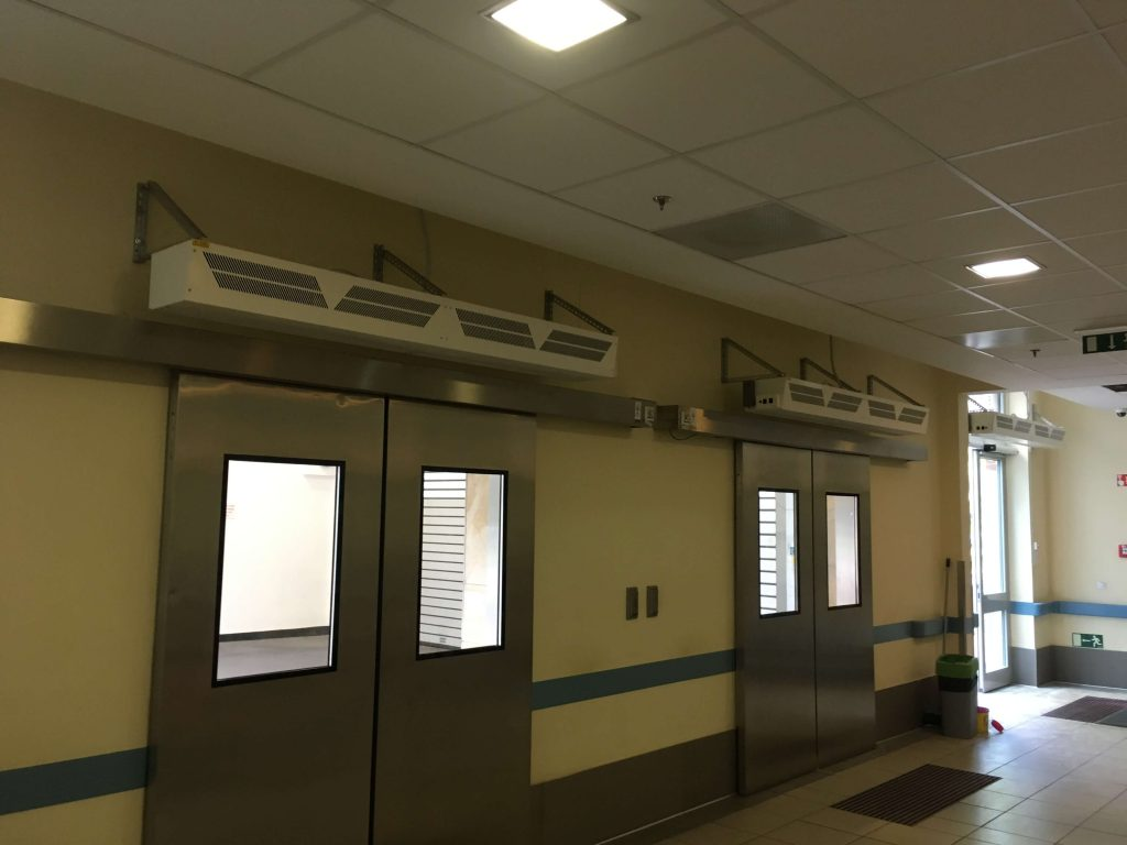 3 air curtains
